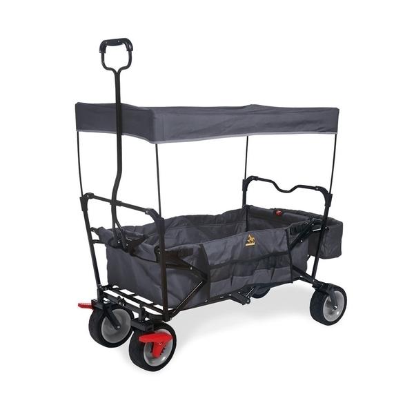 Pinolino - Wagon pliant  Paxi Dlx Comfort avec frein Anthracite