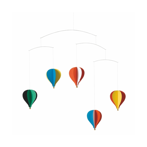 Flensted Mobiles - 5 Montgolfieres