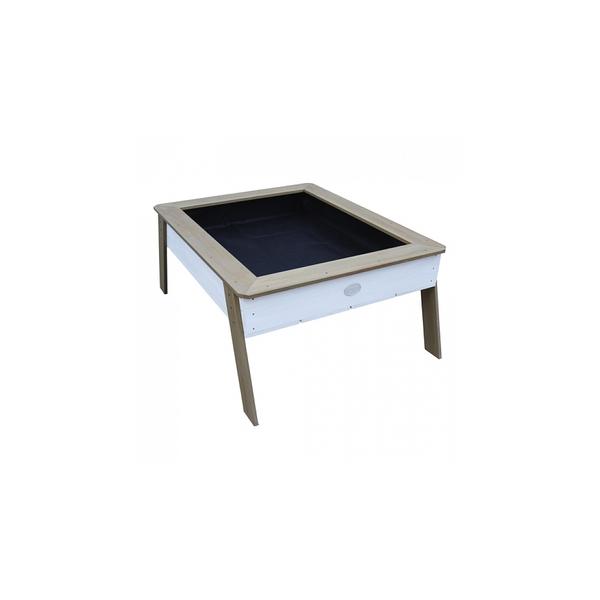 Axi - AXI Linda Bac a sable Growing Table Marron Blanc
