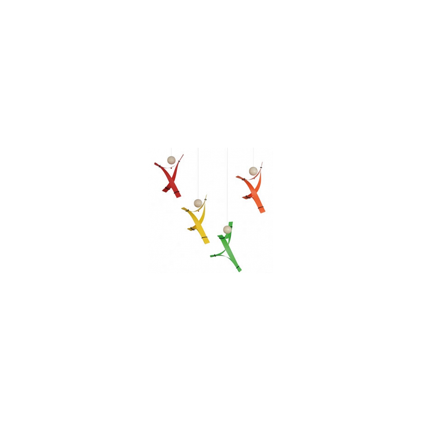 Flensted Mobiles - Mobile décoratif  Libre Esprit Multicolore
