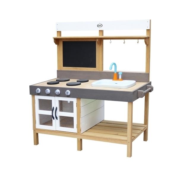 Axi - AXI Cuisine en bois intérieur extérieur Rosa 50x115x120cm