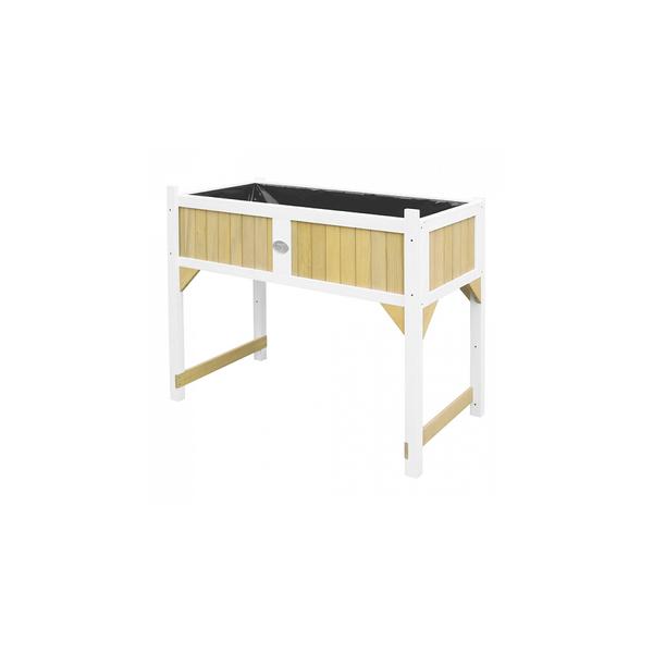 Axi - AXI Interieur et exterieur Table de jardinage  Bois Marron Blanc