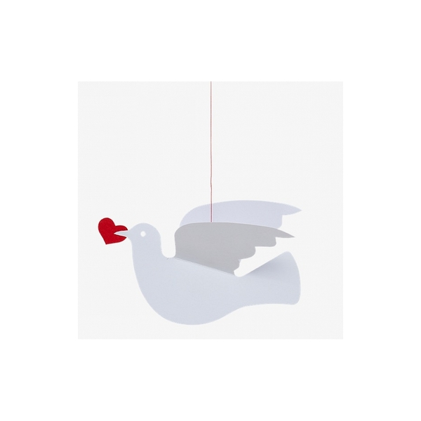 Flensted Mobiles - Mobile décoratif  Love Dove seul