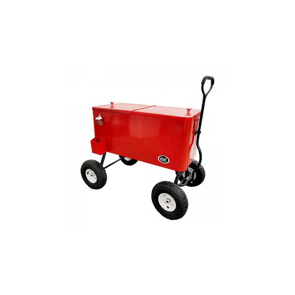 Axi - AXI Chariot de plage Beachwagon Cooler rouge