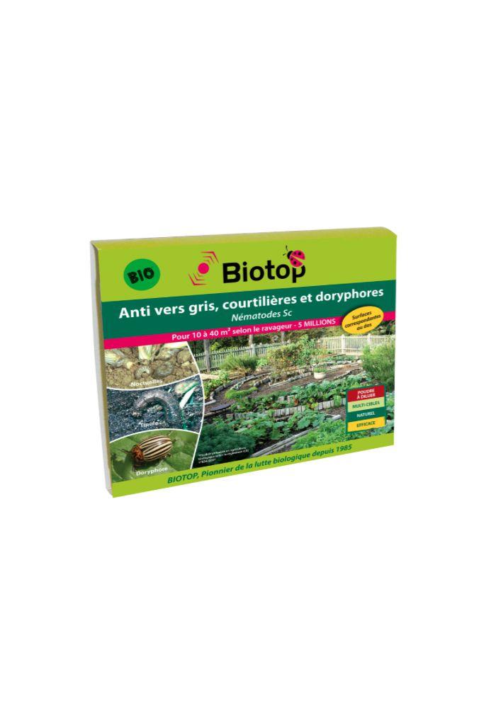 Biotop - Nématodes utiles SC anti vers gris et doryphores (5M)