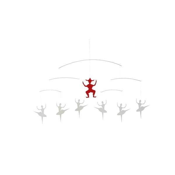 Flensted Mobiles - Andersen Ballet White