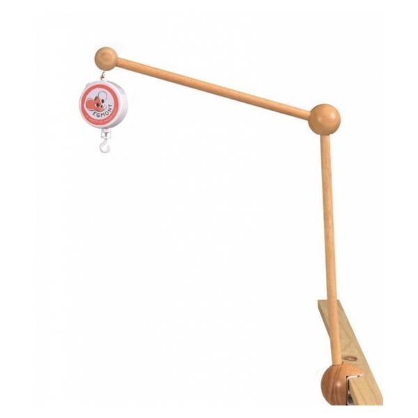 Egmont Toys - Attache en bois pour mobile avec boite a musique