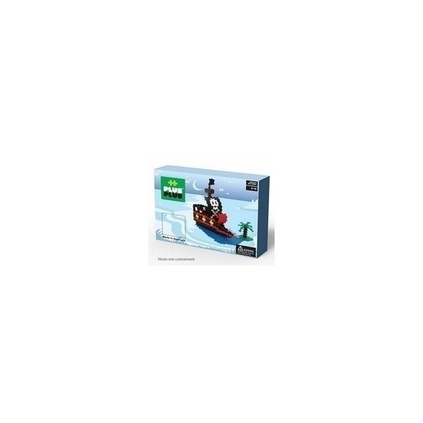 Plus Plus - ++ BOX Mini Basic Bateau Pirates 1060p