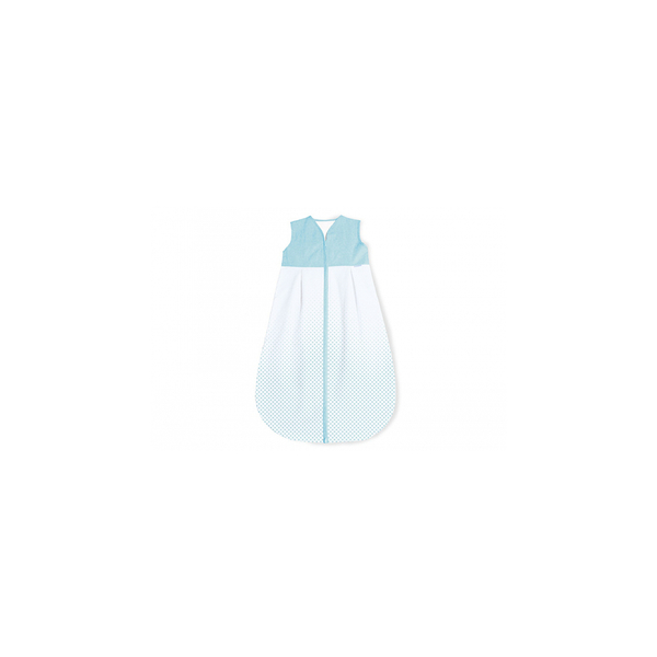 Pinolino - Gigoteuse en percale Running Stars bleu clair été 70 cm