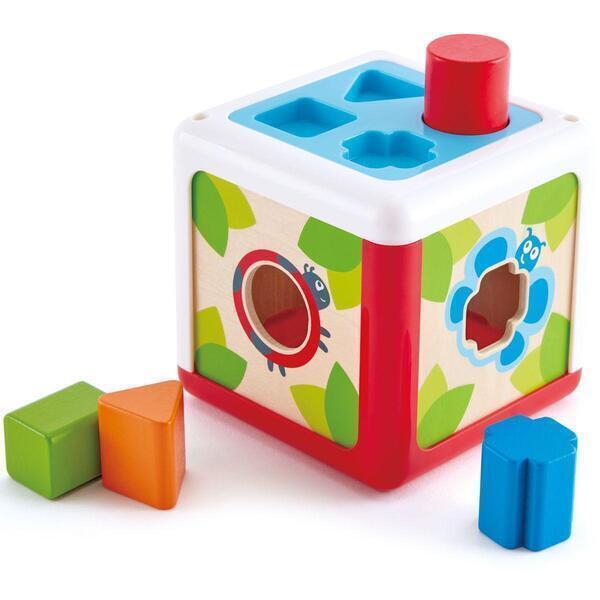 Hape - Cube trieur de forme