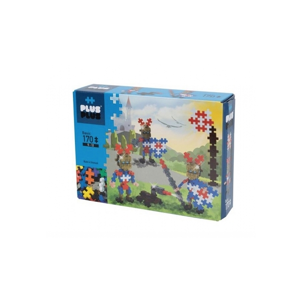 Plus Plus - ++ Box Basic Chevaliers Dores 170 pcs