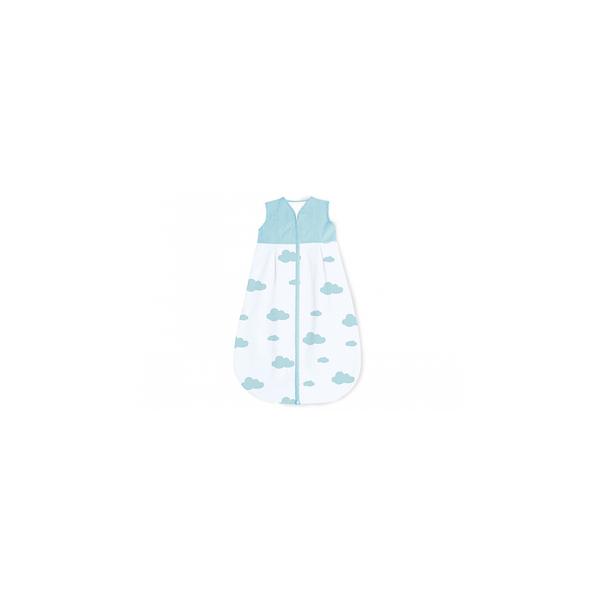 Pinolino - Gigoteuse en percale Wölkchen bleu clair été 110 cm