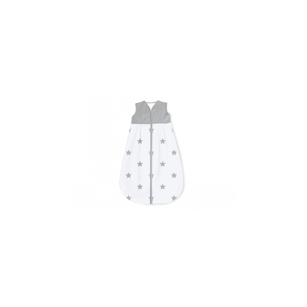 Pinolino - Gigoteuse en percale Sternchen gris clair hiver 70 cm