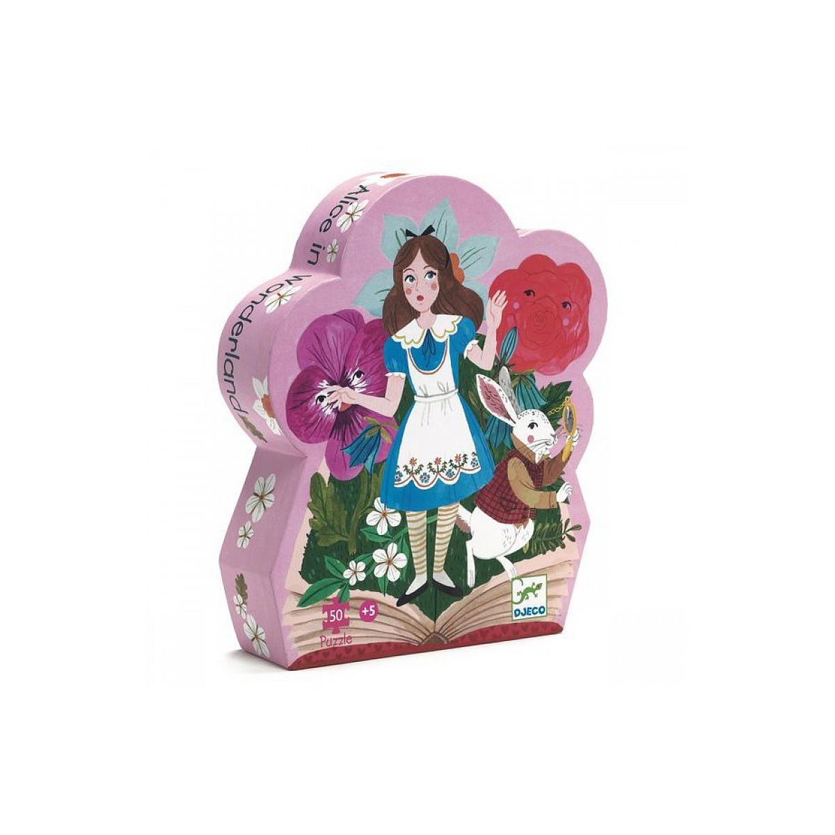 Djeco - Puzzle Alice aux pays des Merveilles 50 pieces