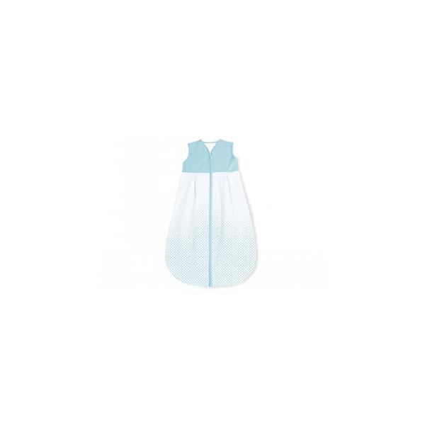 Pinolino - Gigoteuse en percale Running Stars bleu clair hiver 70 cm