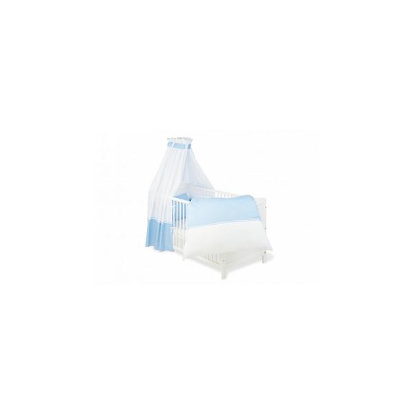 Pinolino - Accessoires textiles pour lits de bébé Vichy-Karo bleu 4 pièc