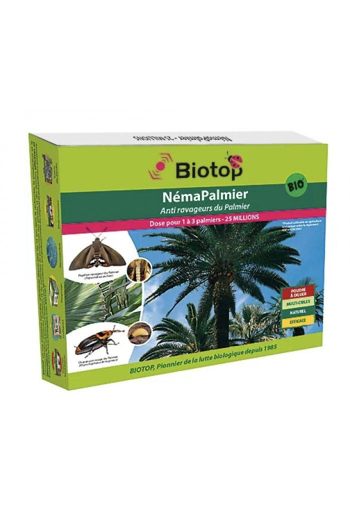 Biotop - Nématodes utiles spécial palmier (25M)