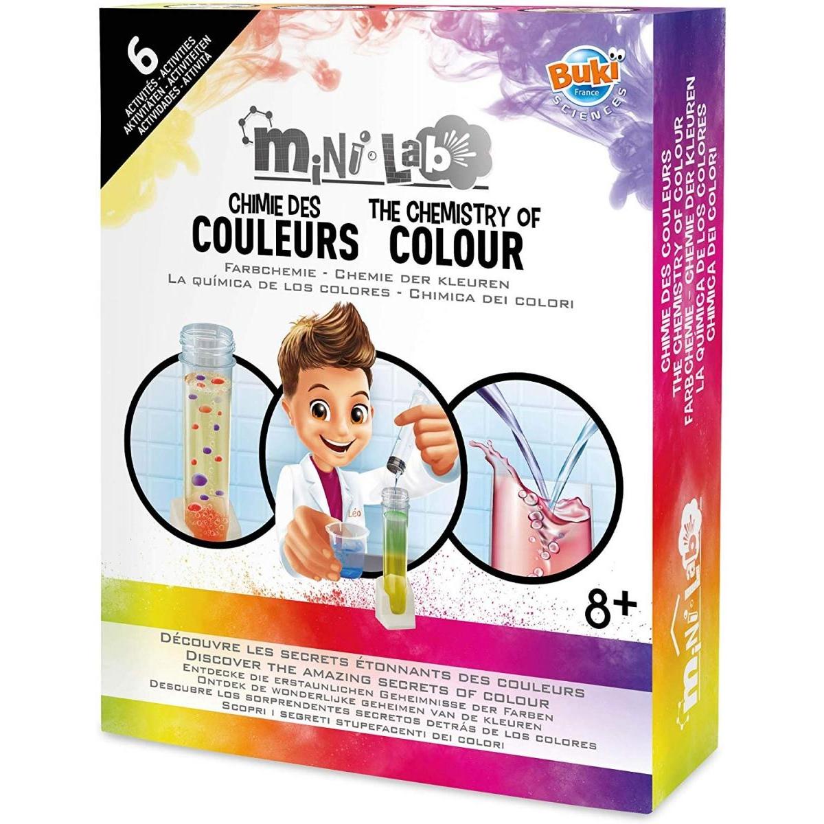 Buki - Mini lab Chimie des couleurs