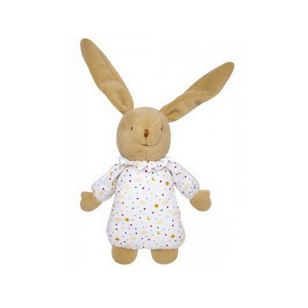 Trousselier - Lapin musical nid ange etoiles 25cm