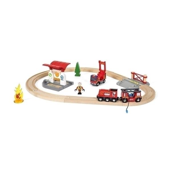 Brio - 33815 Circuit Pompier Lutte contre le Feu
