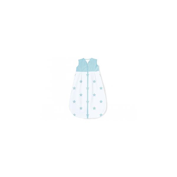 Pinolino - Gigoteuse en percale Sternchen bleu clair hiver 70 cm