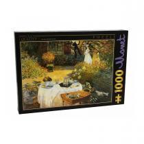 DTOYS - Puzzle Claude Monet Le dejeuner 1000 pieces