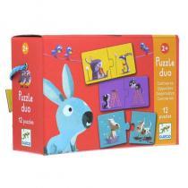Djeco - Puzzle Duo Contraires