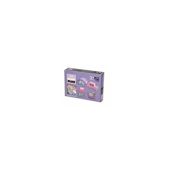 Plus Plus - ++ Box 3 en 1 Mini Pastel - 220 pieces