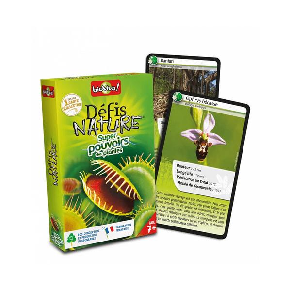 Bioviva - Défis Nature - Super pouvoirs des plantes - Dès 7 ans