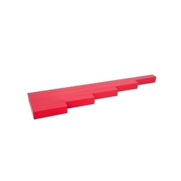 MontessoriSamuserAutrement - Mes 1ères barres rouges Haut de gamme