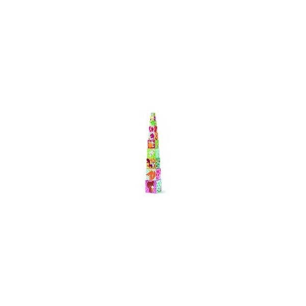 Djeco - 10 cubes Forêt