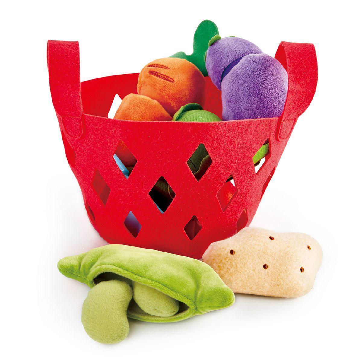 Hape - Panier de legumes pour enfant