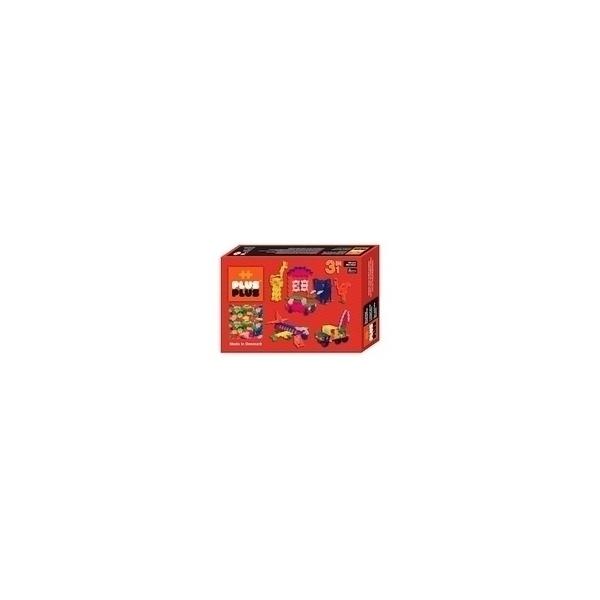 Plus Plus - ++ Box 3 en 1 Mini Néon - 480 pièces