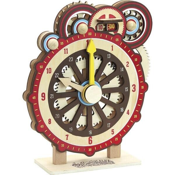Vilac - Machinalirleur - Horloge D'Apprentissage