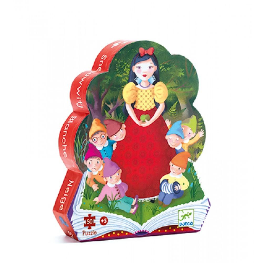 Djeco - Puzzle 50 Pièces Blanche Neige