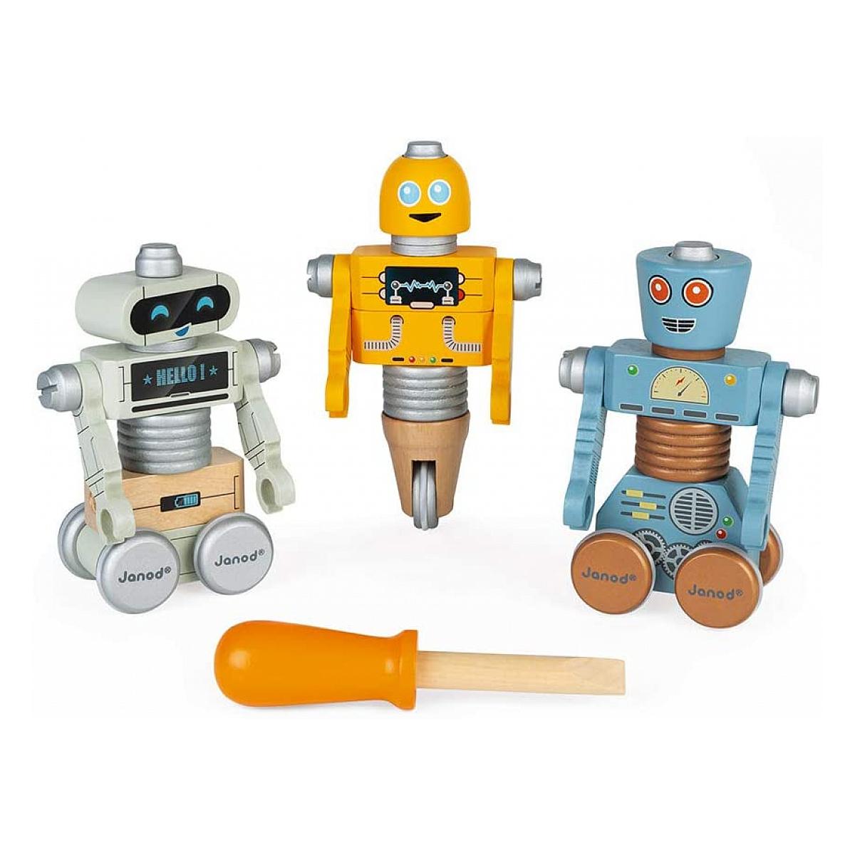 Janod - Jeux de bricolage - Robots brico kids