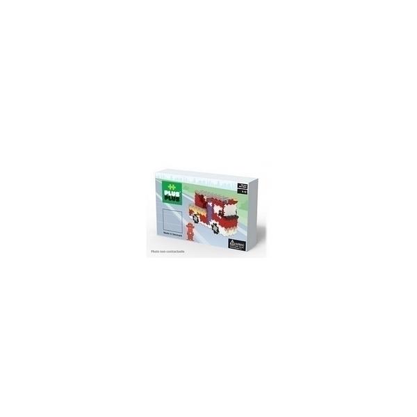 Plus Plus - ++ BOX Mini Basic Pompiers 760p