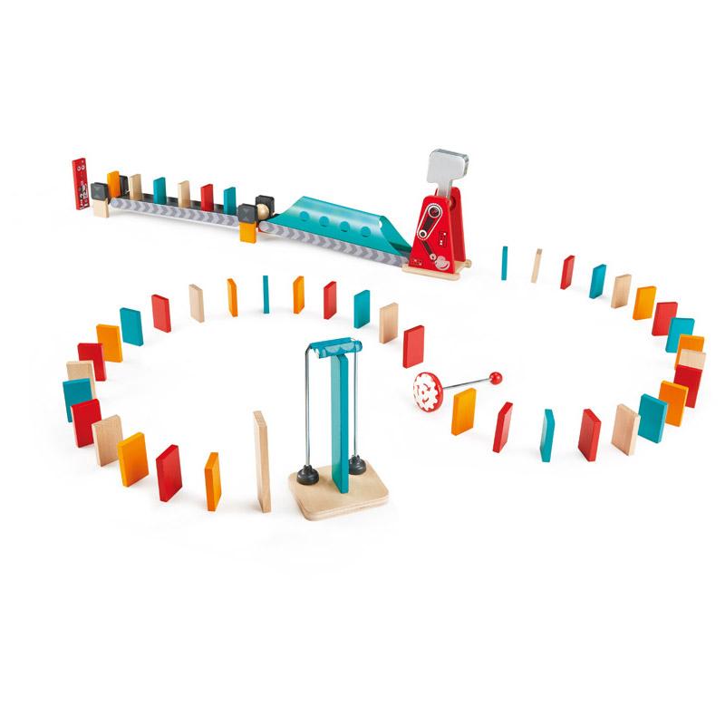Hape - Circuit de Dominos : Grand Marteau