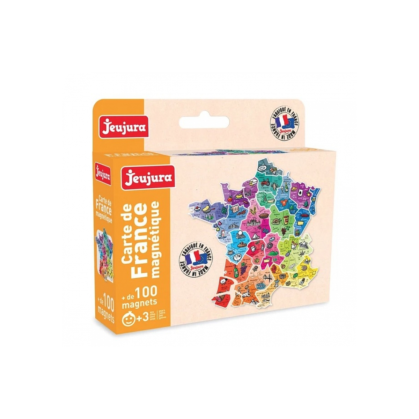 Jeujura - Carte France Magnetique