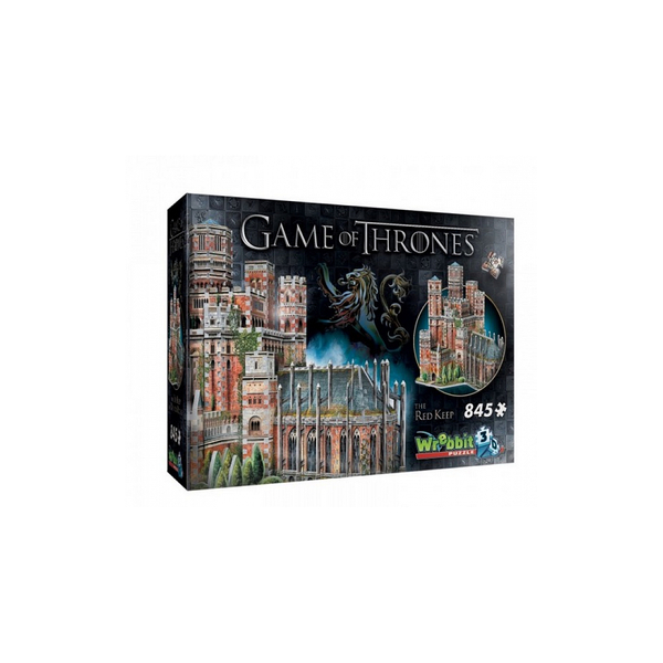 Wrebbit - Puzzle 3D Game of Thrones Le Donjon Rouge 845 pieces