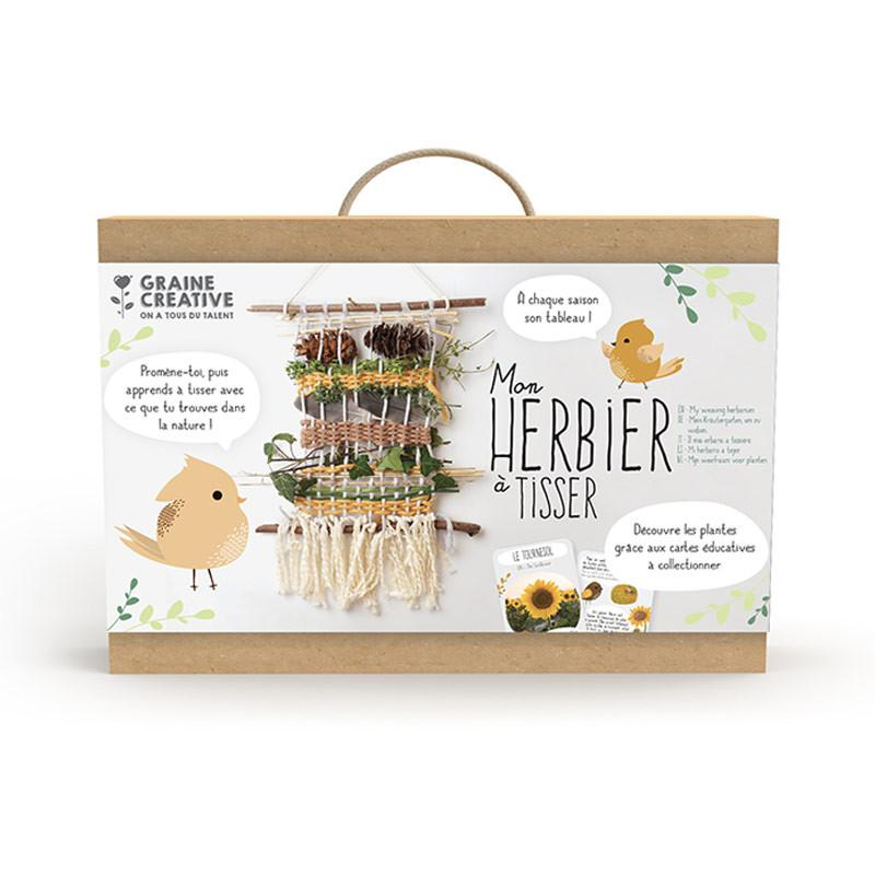 Graine Creative - Kit mon Herbier a tisser