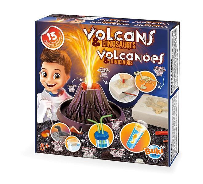 Buki - Volcans et dinosaures