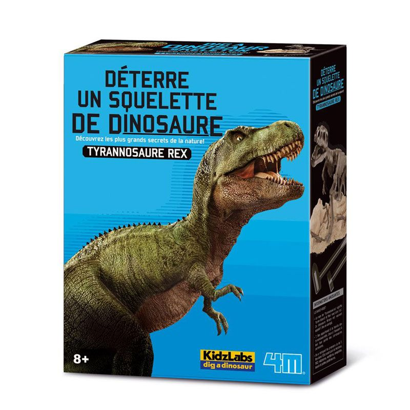 4M - Deterre ton dinosaure Tyrannosaurus Rex
