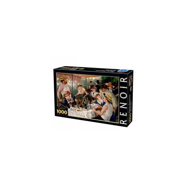 DTOYS - Auguste Renoir Dejeuner des Canotiers 1000 pieces