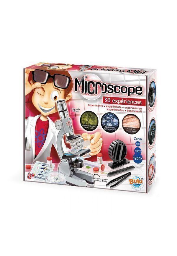 Buki - Jeu Scientifique - Microscope 30 Expériences