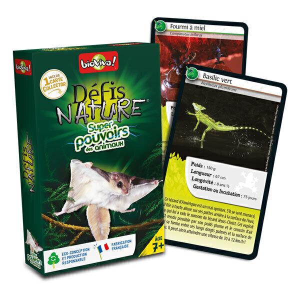 Bioviva - Défis Nature - Super pouvoirs des animaux - Dès 7 ans