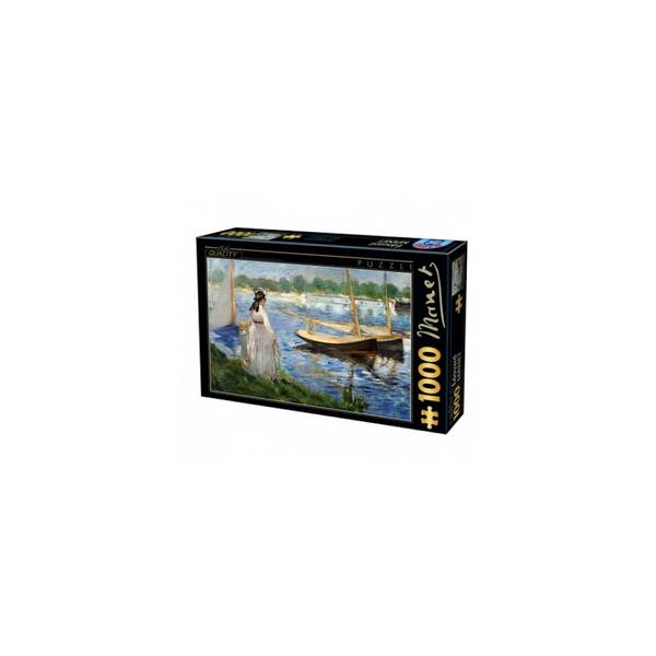 DTOYS - Edouard Manet Les es de la Seine a Argenteuil 1000 pieces