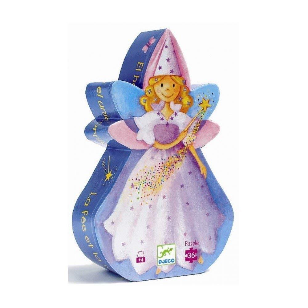 Djeco - Puzzle 36 Pièces La Fée Et La Licorne