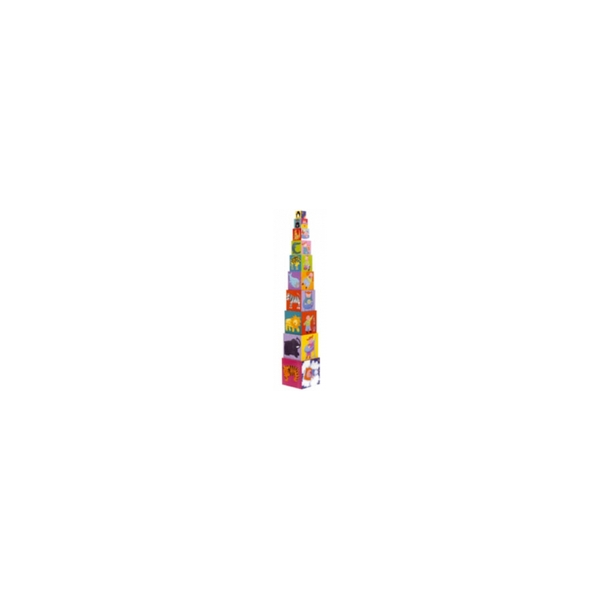 Djeco - 10 cubes rigolos