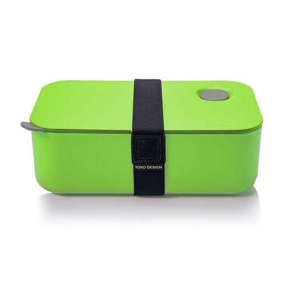 Yoko Design - LUNCH BOX 1 ETAGE COLORIS VERT 1000 ml